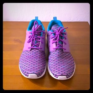 "Nike Flyknit Roshe Run PRM ""Grape"""